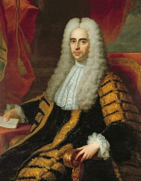 ファイル:Rt Hon John Methuen as Lord Chancellor of Ireland - by Adrien Carpentiers.png