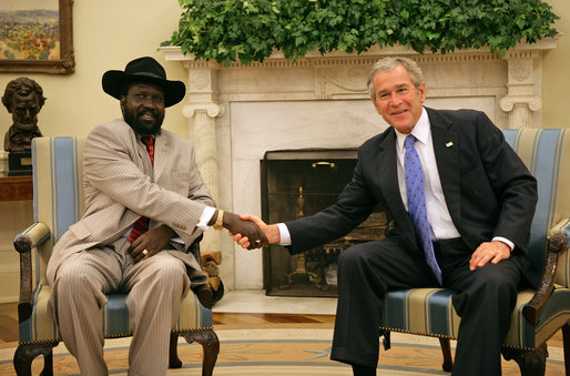 Image result for President Bush and Kirr