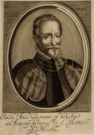 Retrato anónimo de Sancho Dávila.