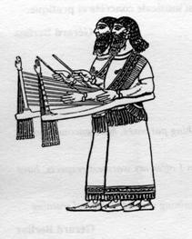 Սանթուրահարների բաբելոնյան պատկեր