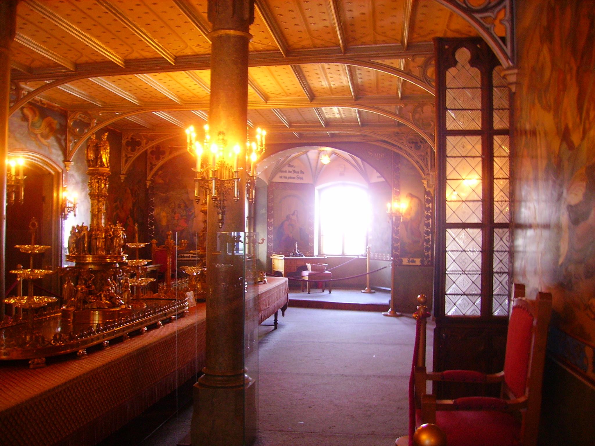 Datei Schwangau Schloss Hohenschwangau Innen Festsaal Jpg Wikipedia