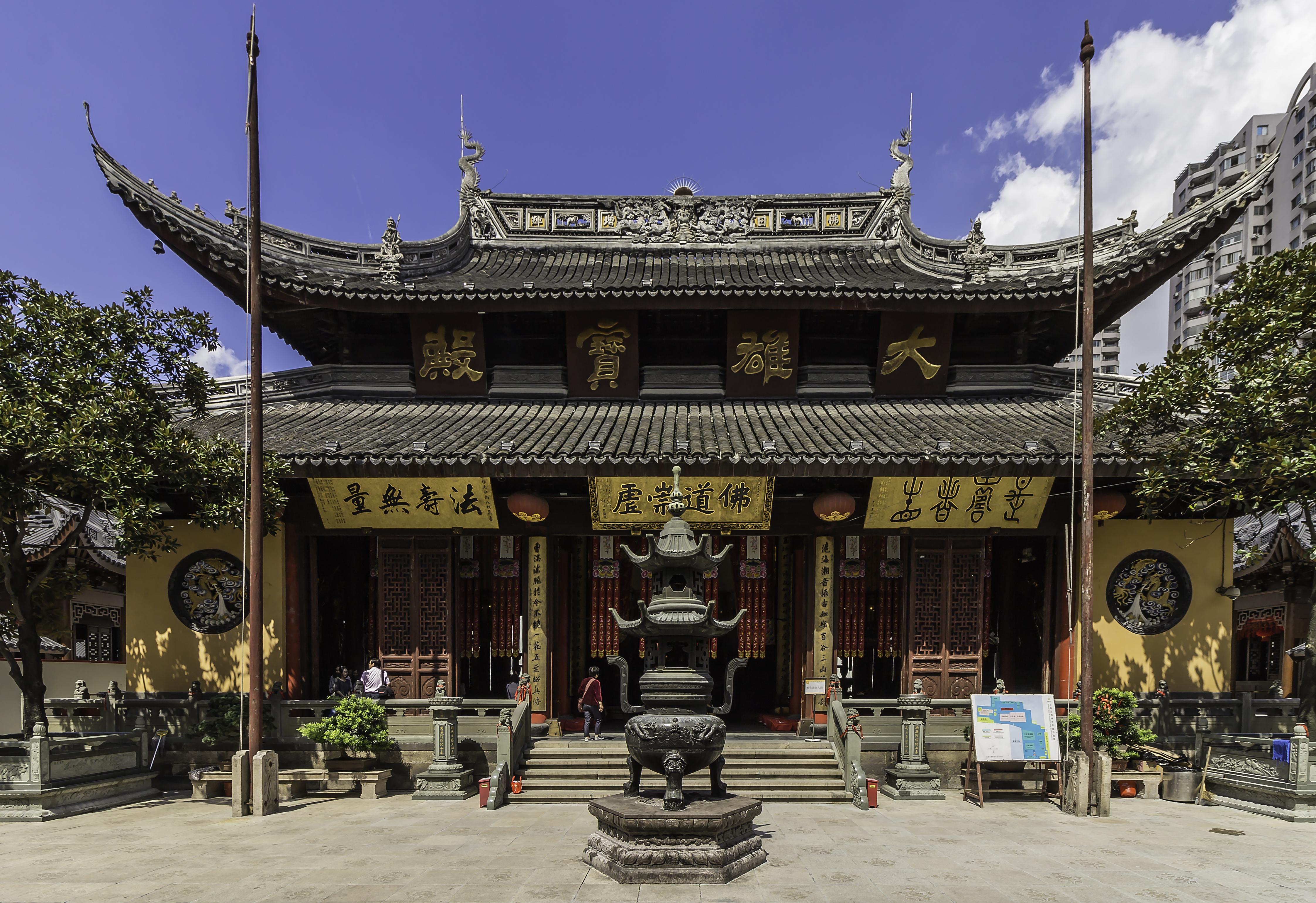 Shanghai   Jade Buddha Temple   0058 - Tempat Wisata di Shanghai Wajib Dikunjungi