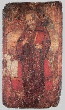 Szent Szilveszter. 15. századi itáliai festmény.