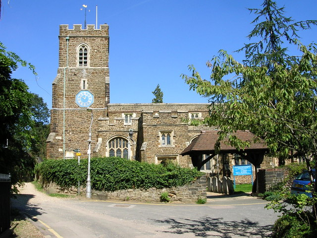 St Andrew's church in Ampthill