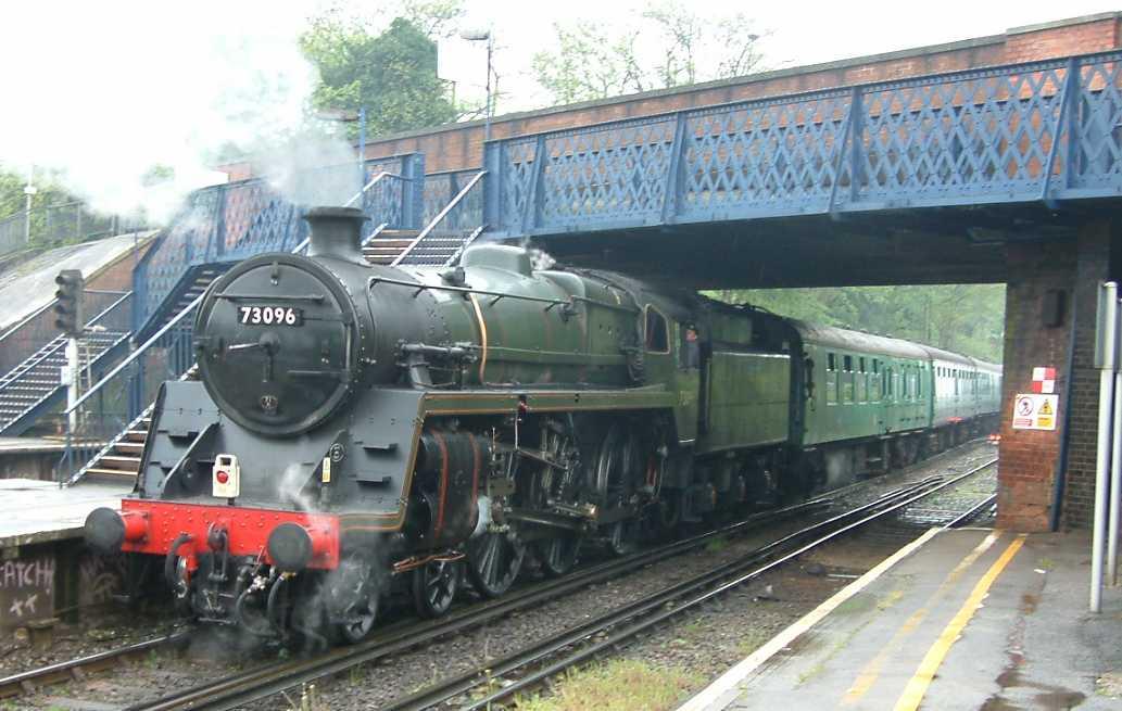 Steam Train Paintings Uk