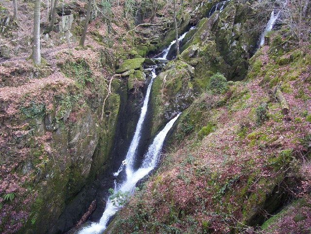 Stockghyll Falls - geograph.org.uk - 12551