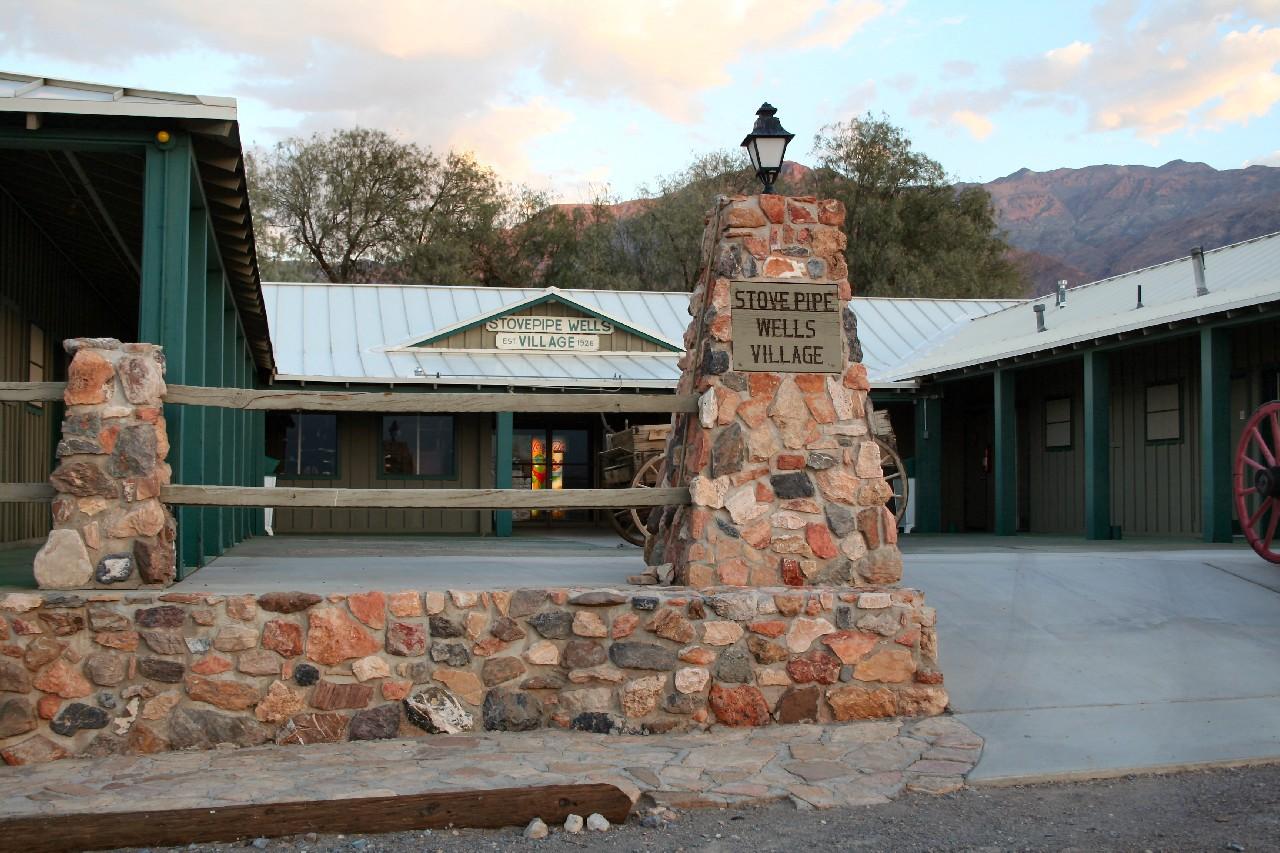 Stovepipe Wells Village Hotel Death Valley Ca Vereinigte Staaten