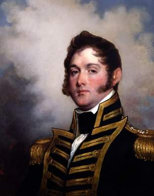 Depiction of Oliver Hazard Perry