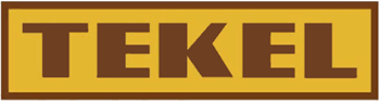 Old logo of TEKEL