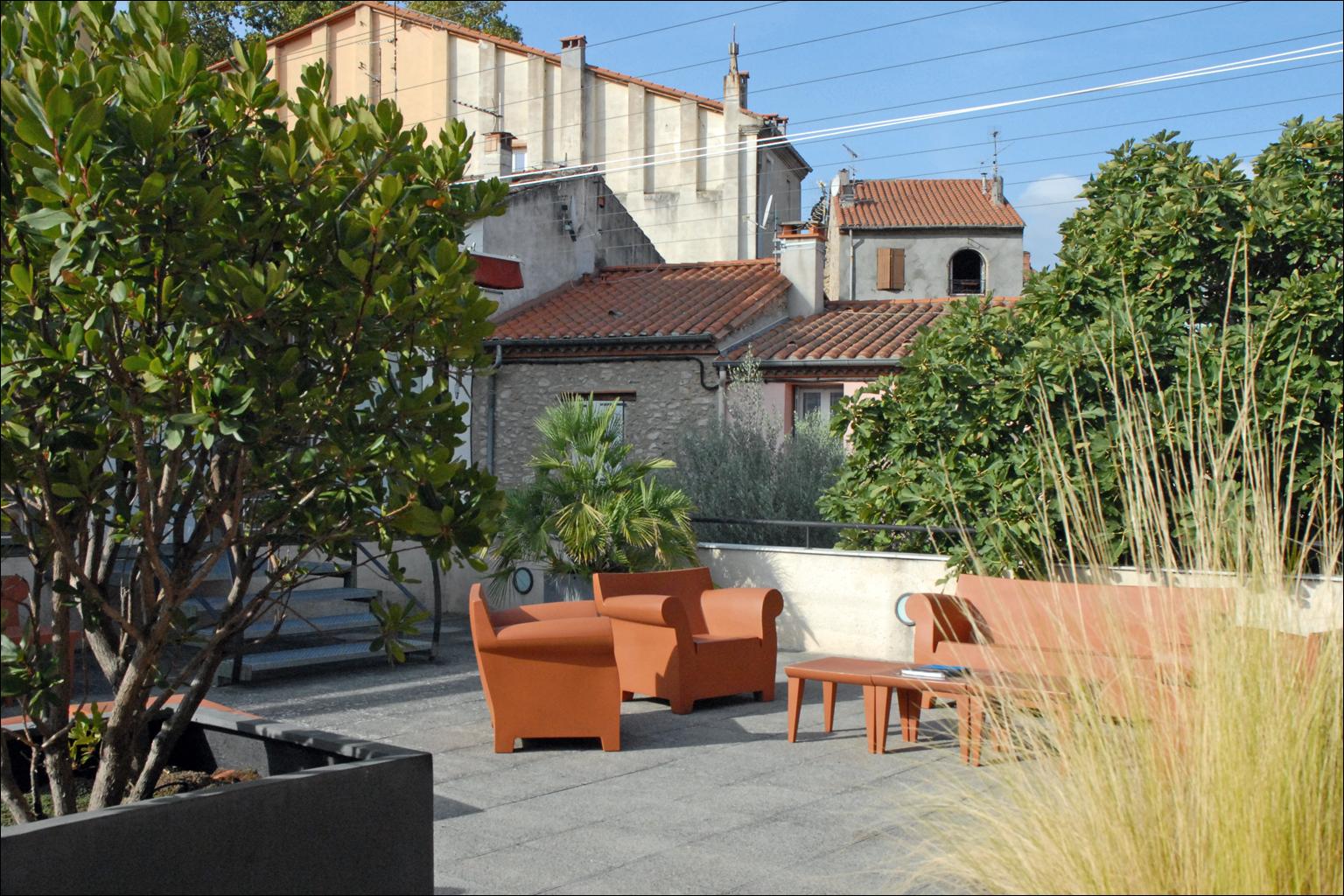 Terrasse Spa Patio file:terrasse dans le patio (musée dart moderne, céret) (6249674541