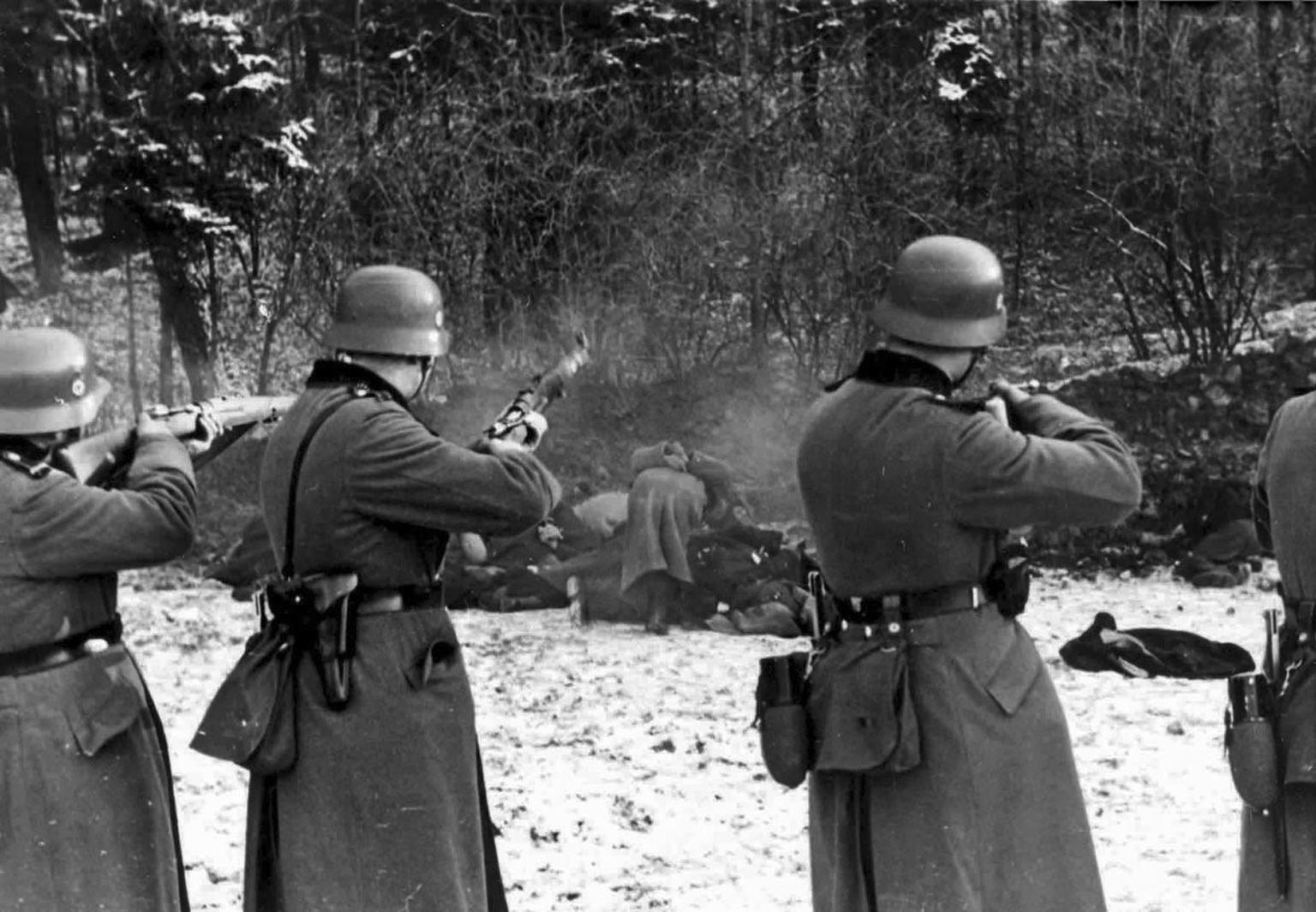 The Bochnia massacre German-occupied Poland 1939.jpg