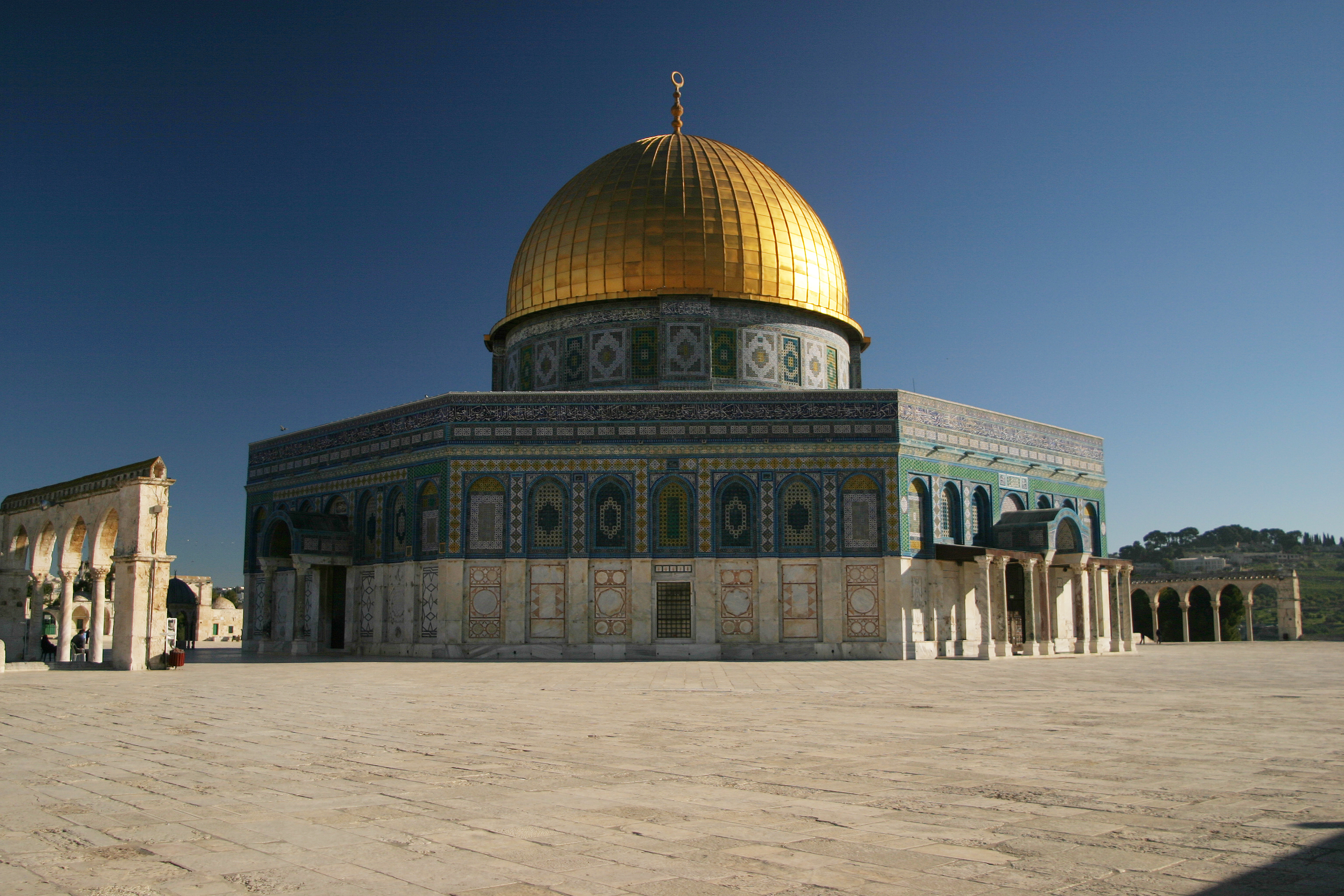 File:The Dome of the Rock from the Southwest.jpg ... Dome Of The Rock