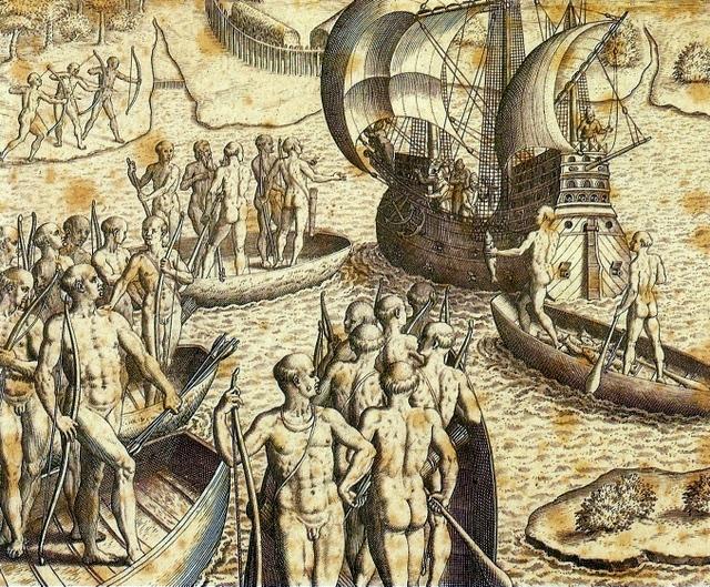 Theodor_de_Bry_-_Ataque_de_Portugueses_e_Tupiniquins_%C3%A0s_Cabanas_Tupinamb%C3%A1s.jpg
