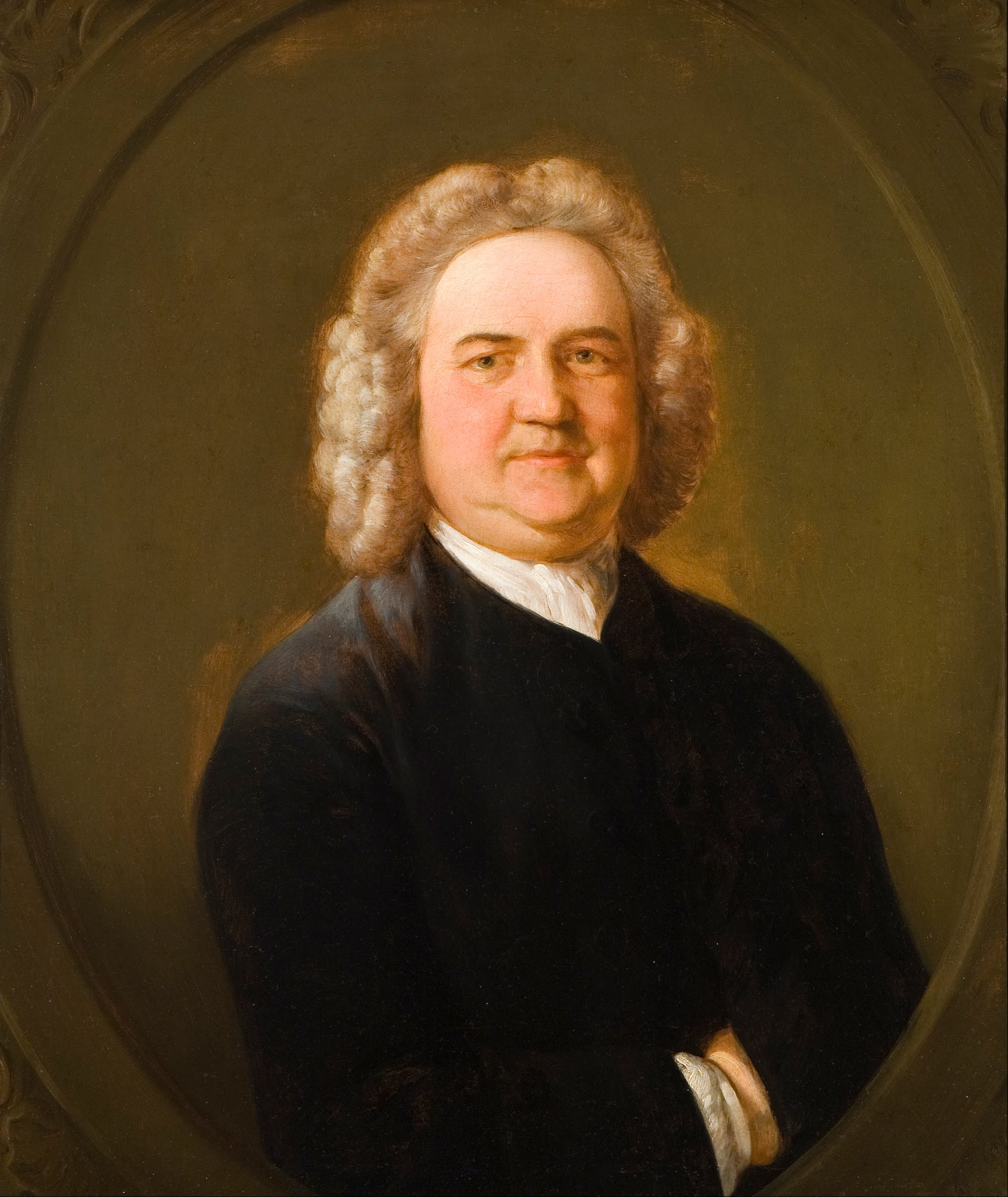 Portrait of Thomas Chubb, by [[Thomas Gainsborough]]