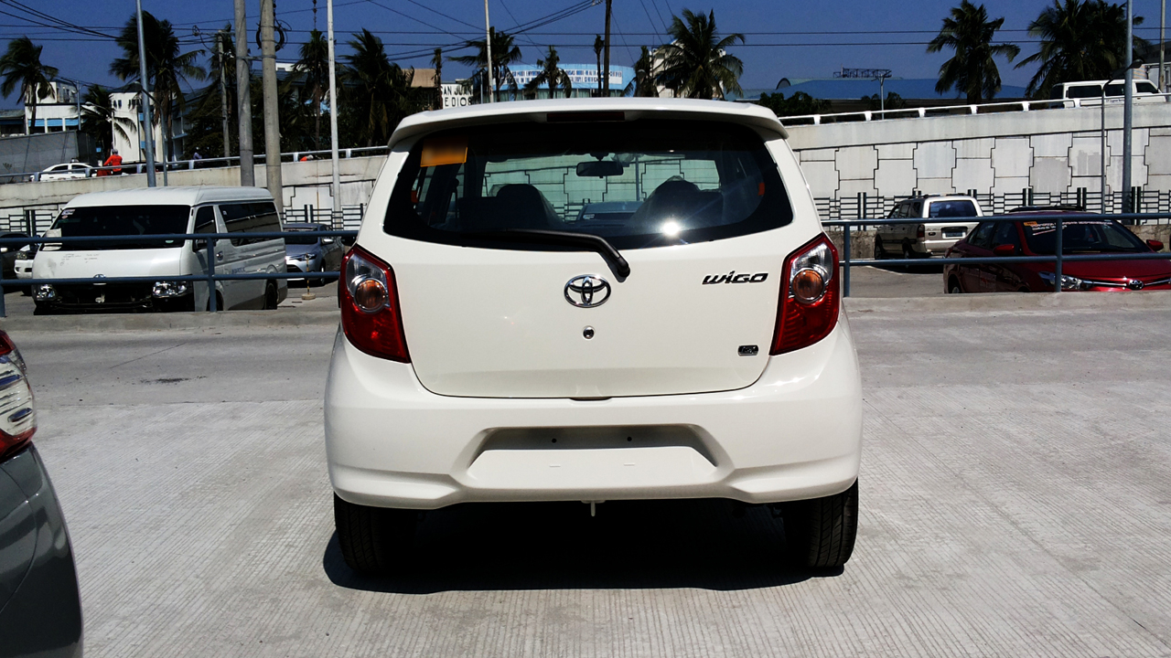File Toyota Wigo G Rear Jpg Wikimedia Commons