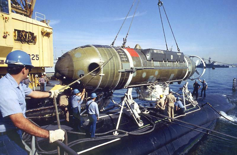 Navy inducts deep submergence rescue vehicle, to get one more