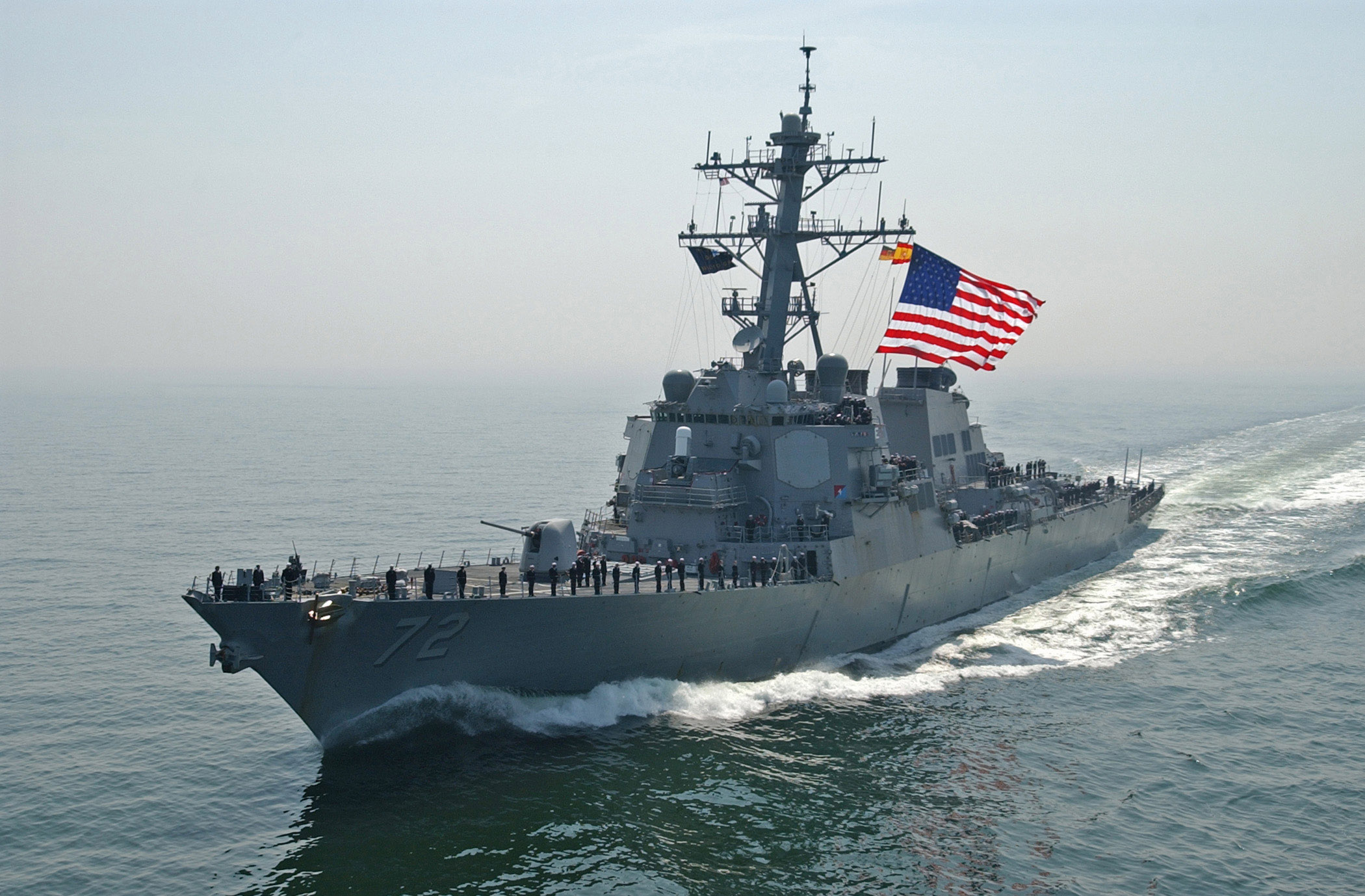 Image result for USS Mahan, photo