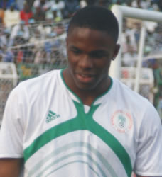 Depiction of Victor Anichebe