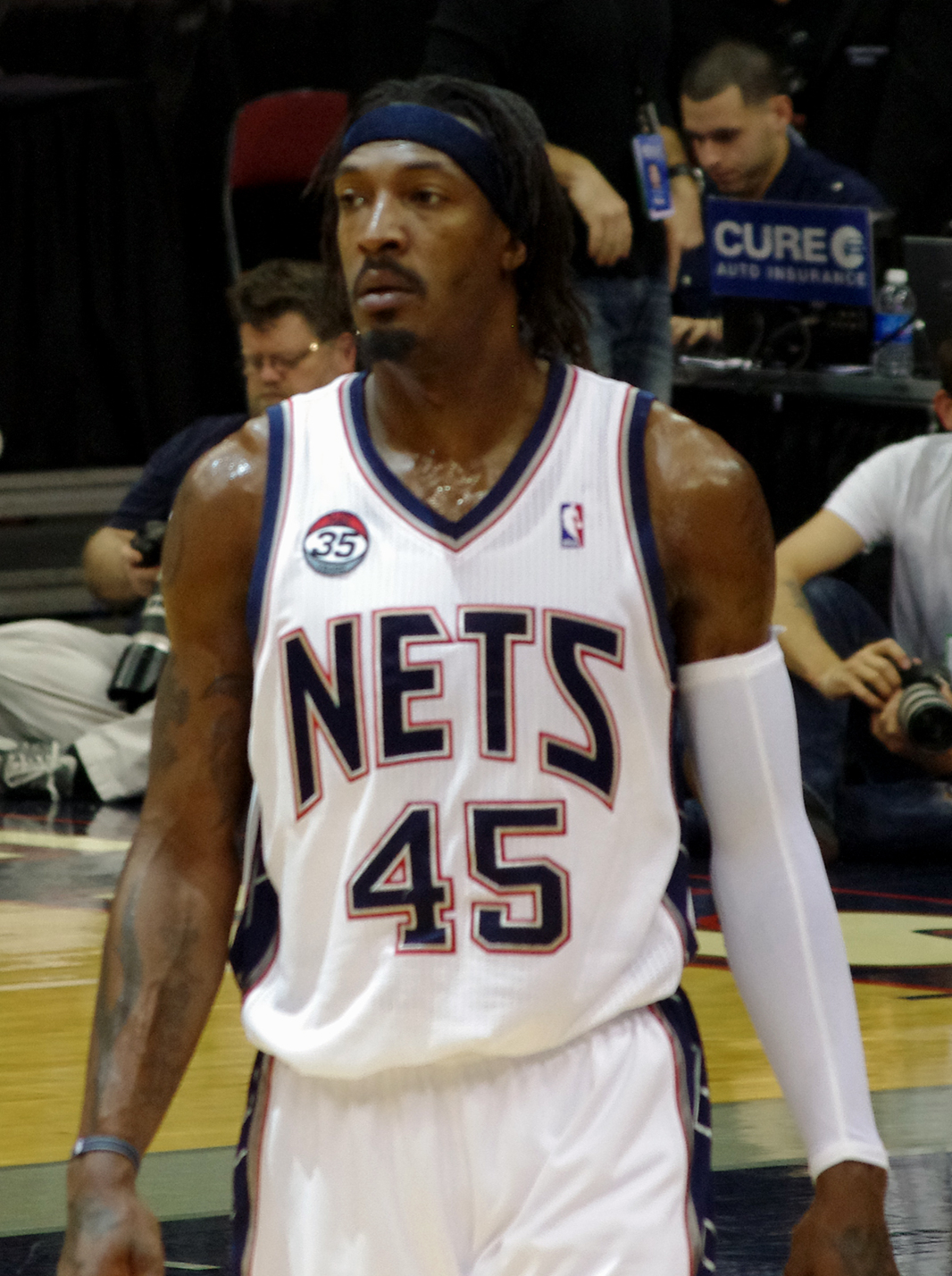 Portland Trail Blazers Roster 2011: Gerald Wallace