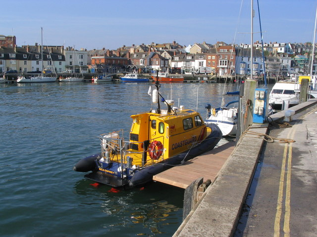 Weymouth Harbour from the Commercial Quay - geograph.org.uk - 341343