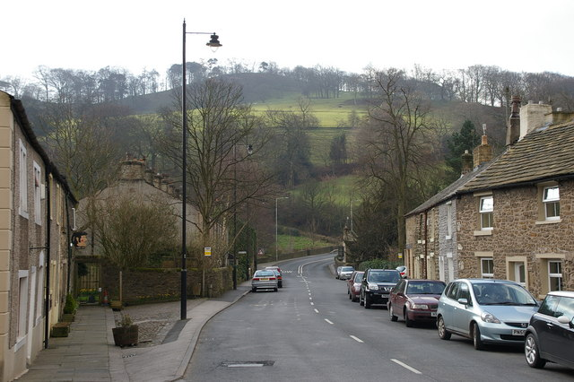 Whalley Nab-King Street, Whalley - geograph.org.uk - 369035