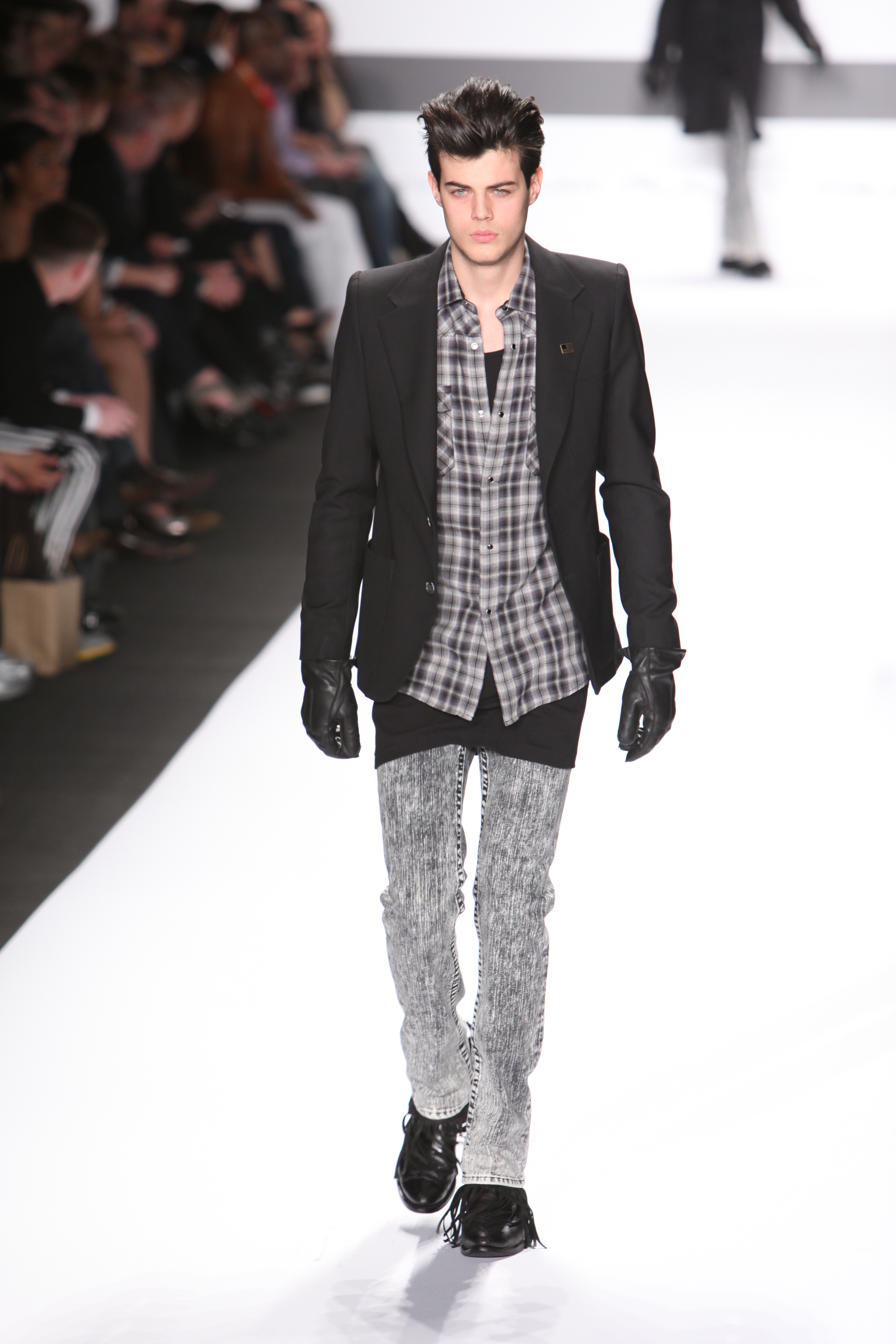 Fashion Show Man Jerking Down Runway