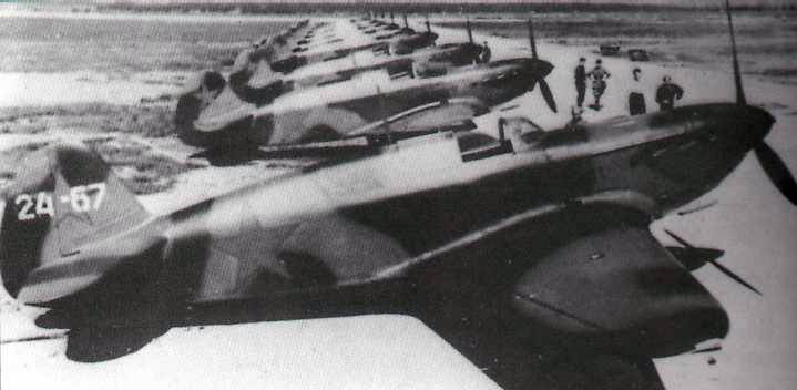 Yak-1 fighters in 1941