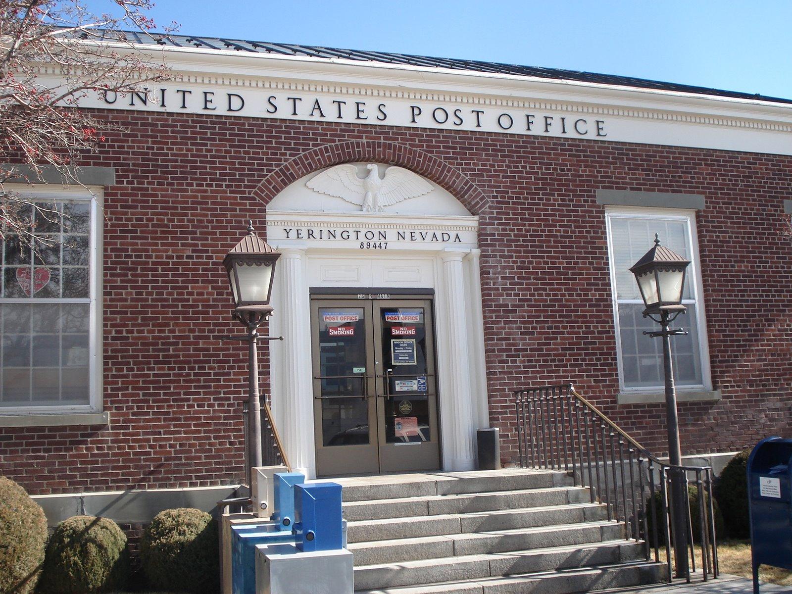 United states post office yerington nevada wikipedia - United states post office ...