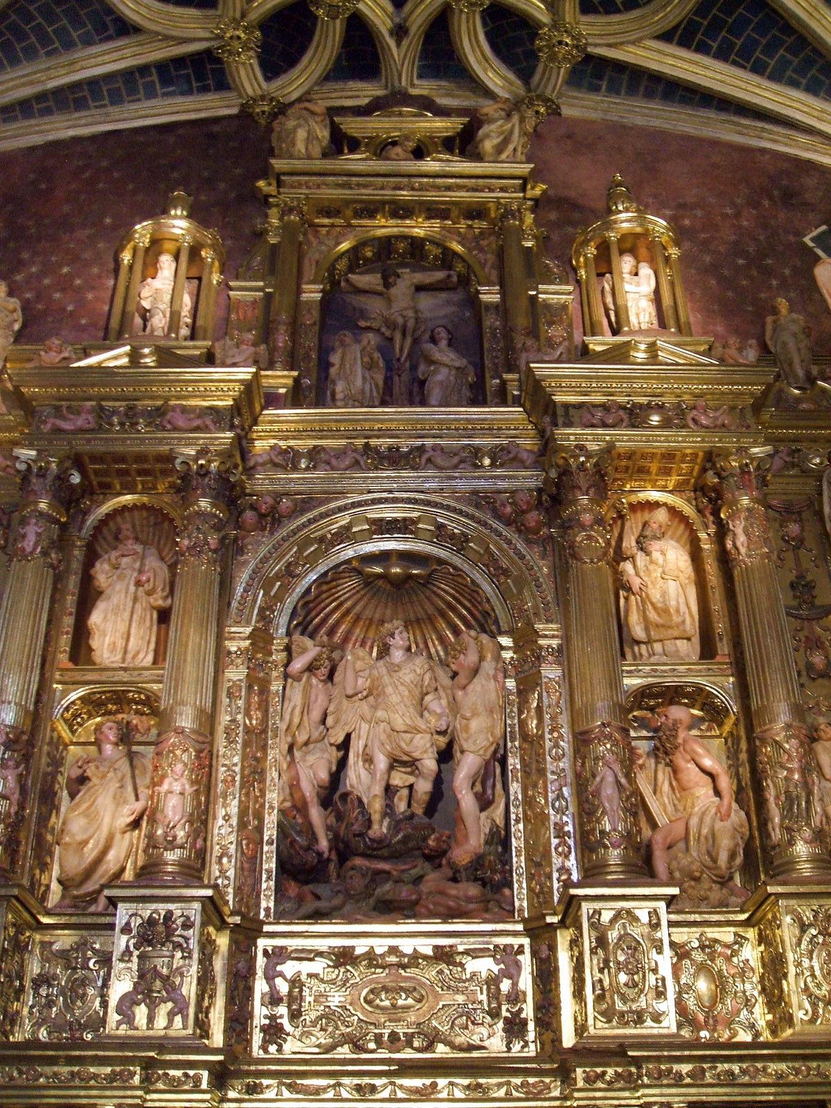 Zaragoza - La Seo 16 - Capilla de los Santos Miguel, Gabriel y Rafael.JPG
