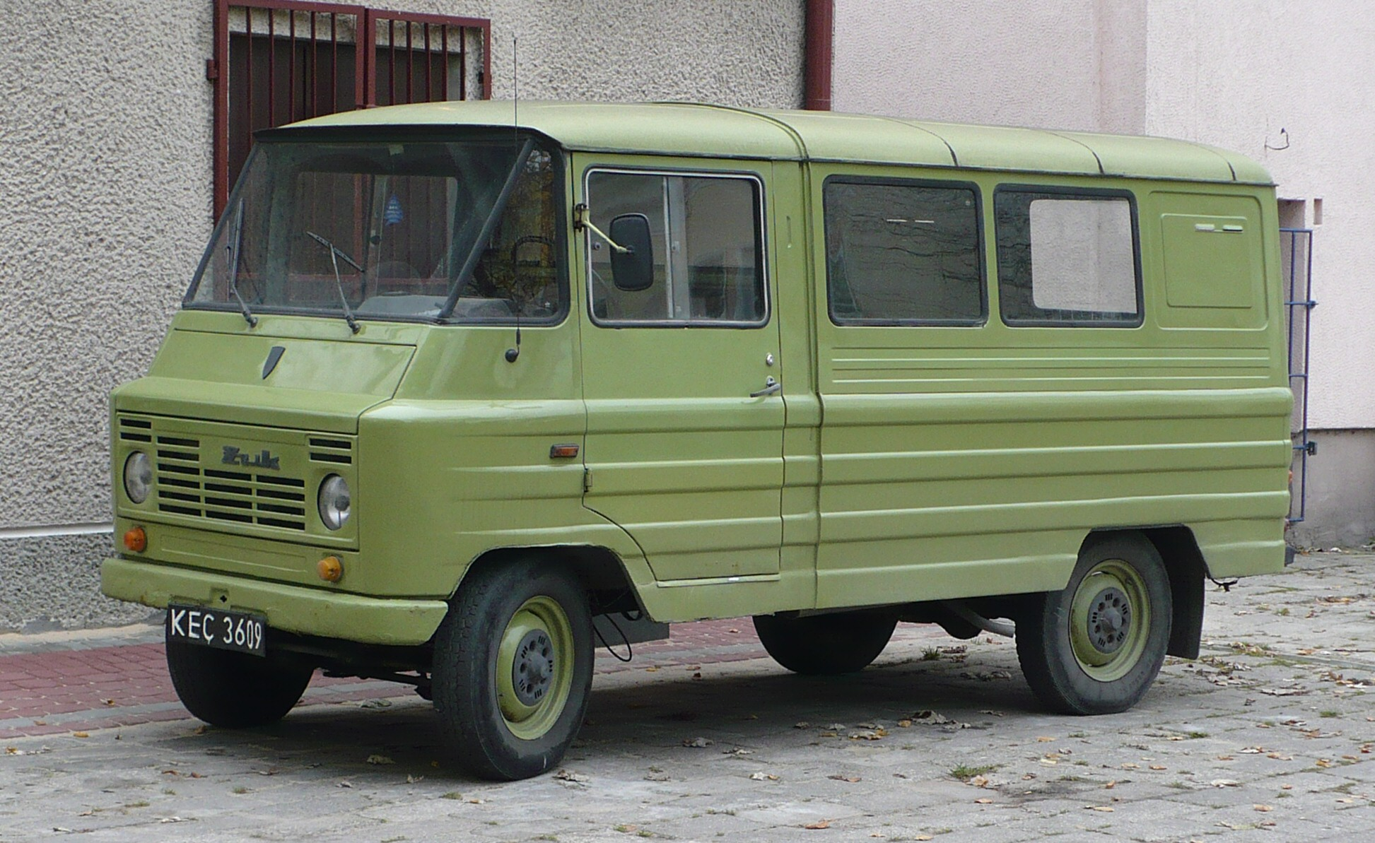 Zuk The Polish Panel Van 587 000 Were Made Between 1958