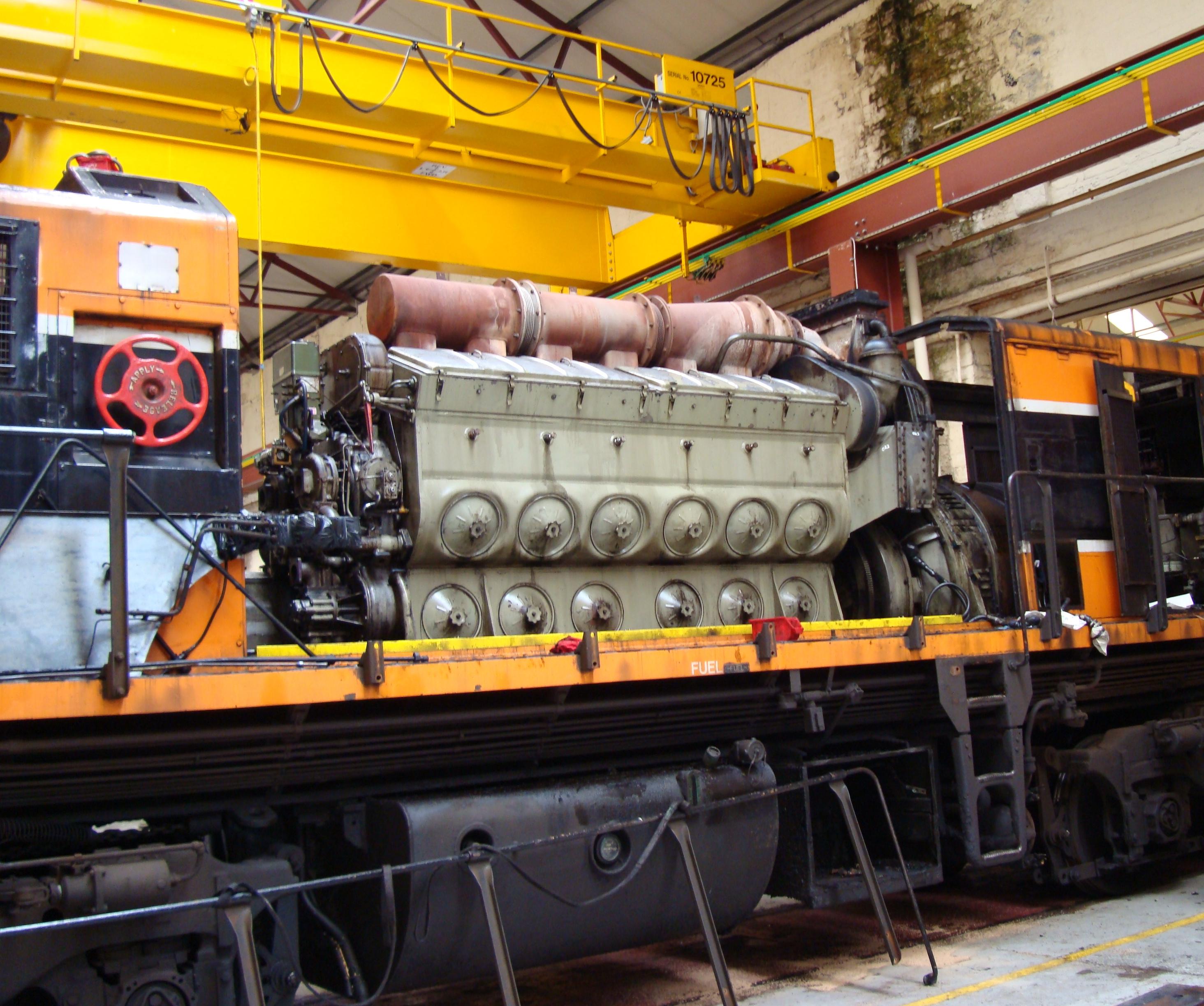 Engine on Caterpillar Marine Diesel Engines