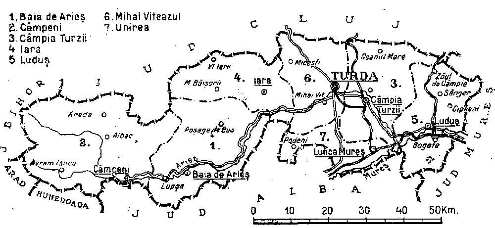 File 1938 Map Of Interwar County Turda Jpg Wikipedia