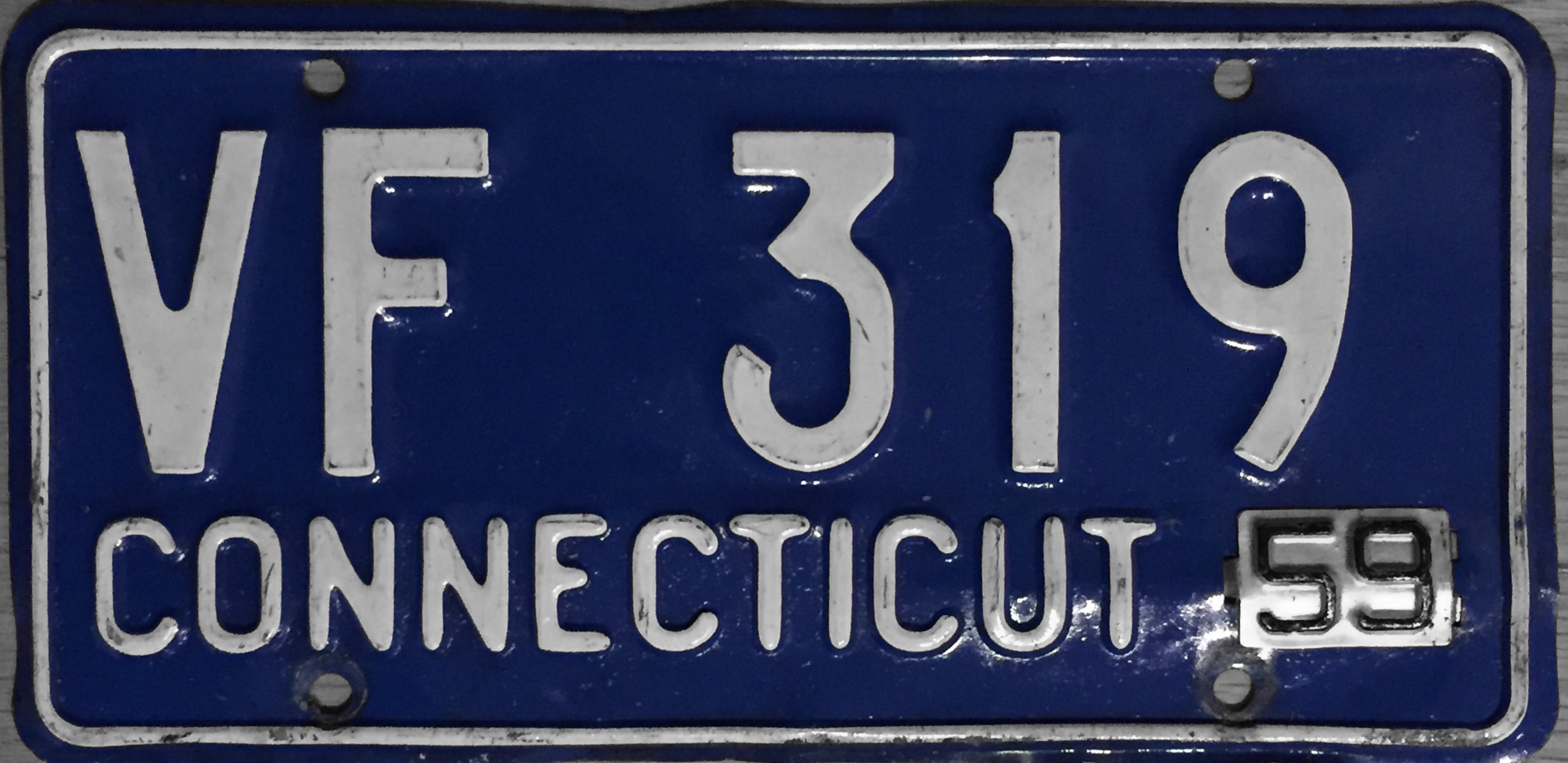File1959 Connecticut License PlateJPG