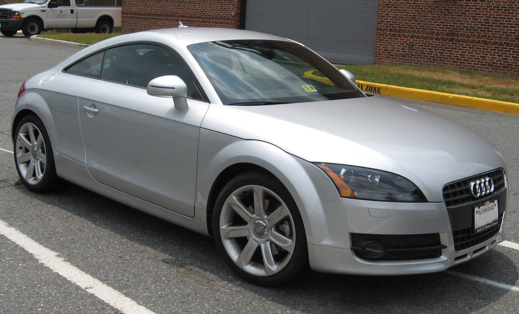 File 2007 Audi Tt Jpg Wikimedia Commons