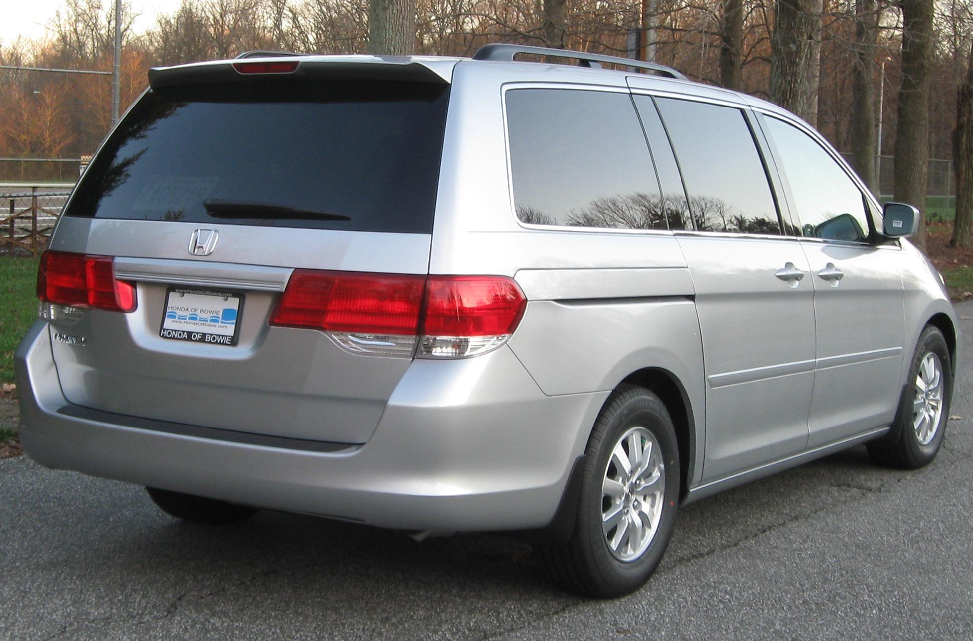 2010 Honda Odyssey EX rear    12 03 2009 - 2010 Honda Odyssey Ex