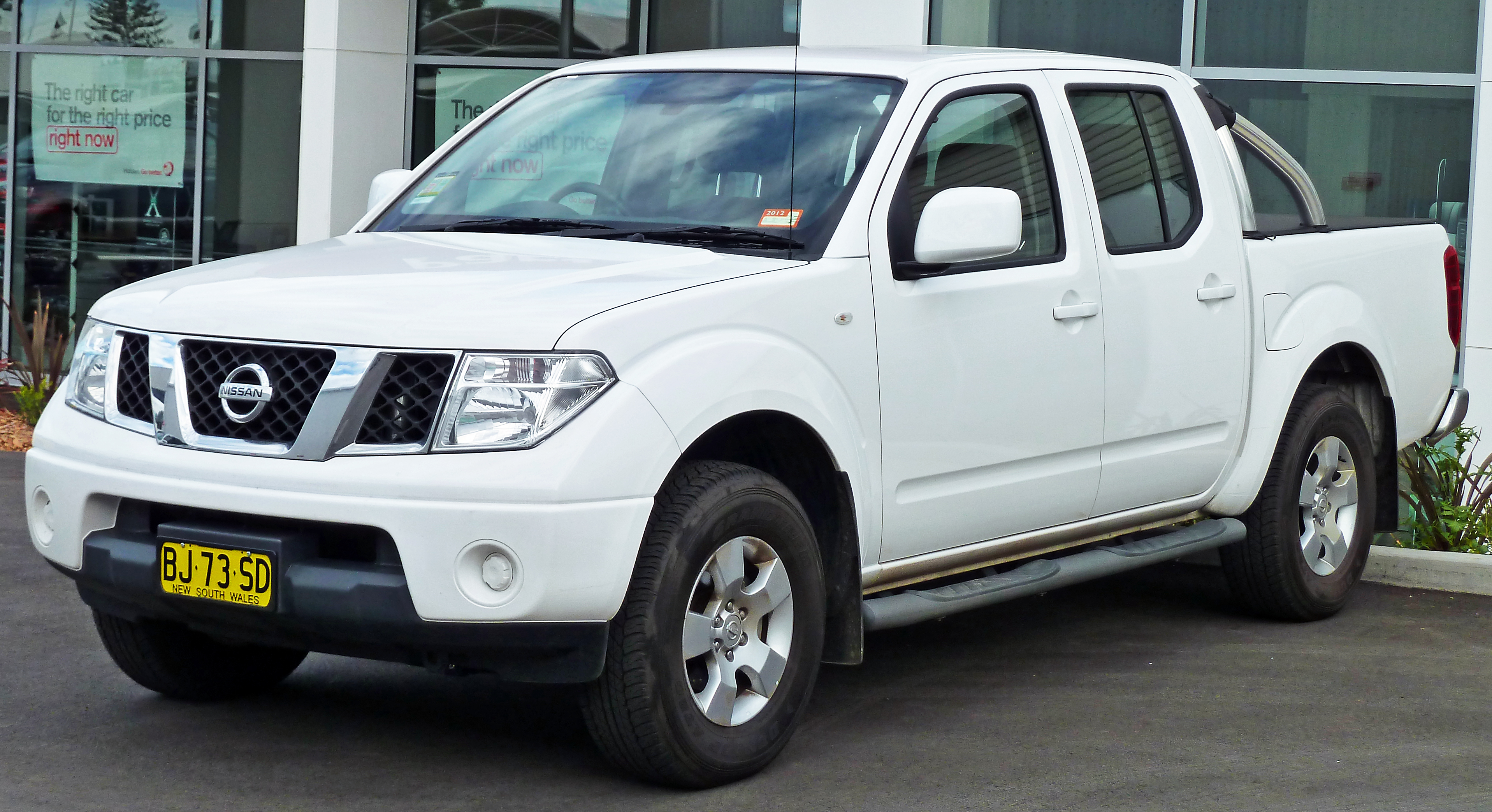 file 2010 nissan navara d40 st 4 door utility 2011 04. Black Bedroom Furniture Sets. Home Design Ideas