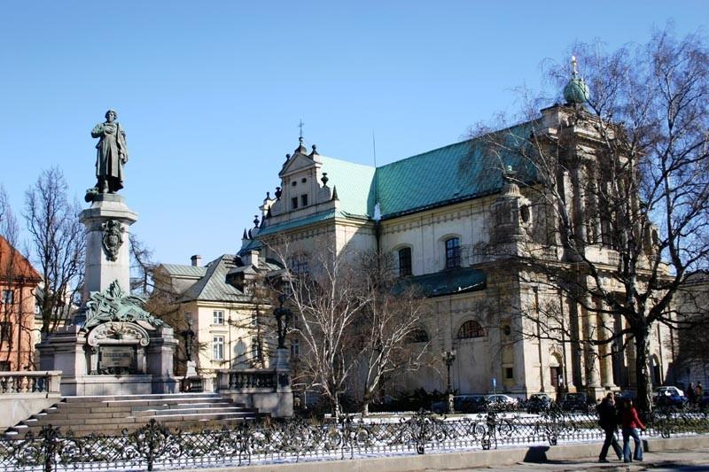 Varsóvia e o inverno na Europa