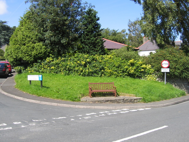 A seat with a view in Austwick - geograph.org.uk - 1726392