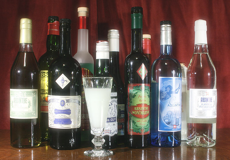 Cafe Absinthe Drink Menu