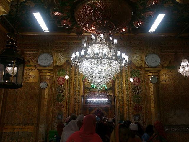 Interior of Ajmer Sharif Dargah