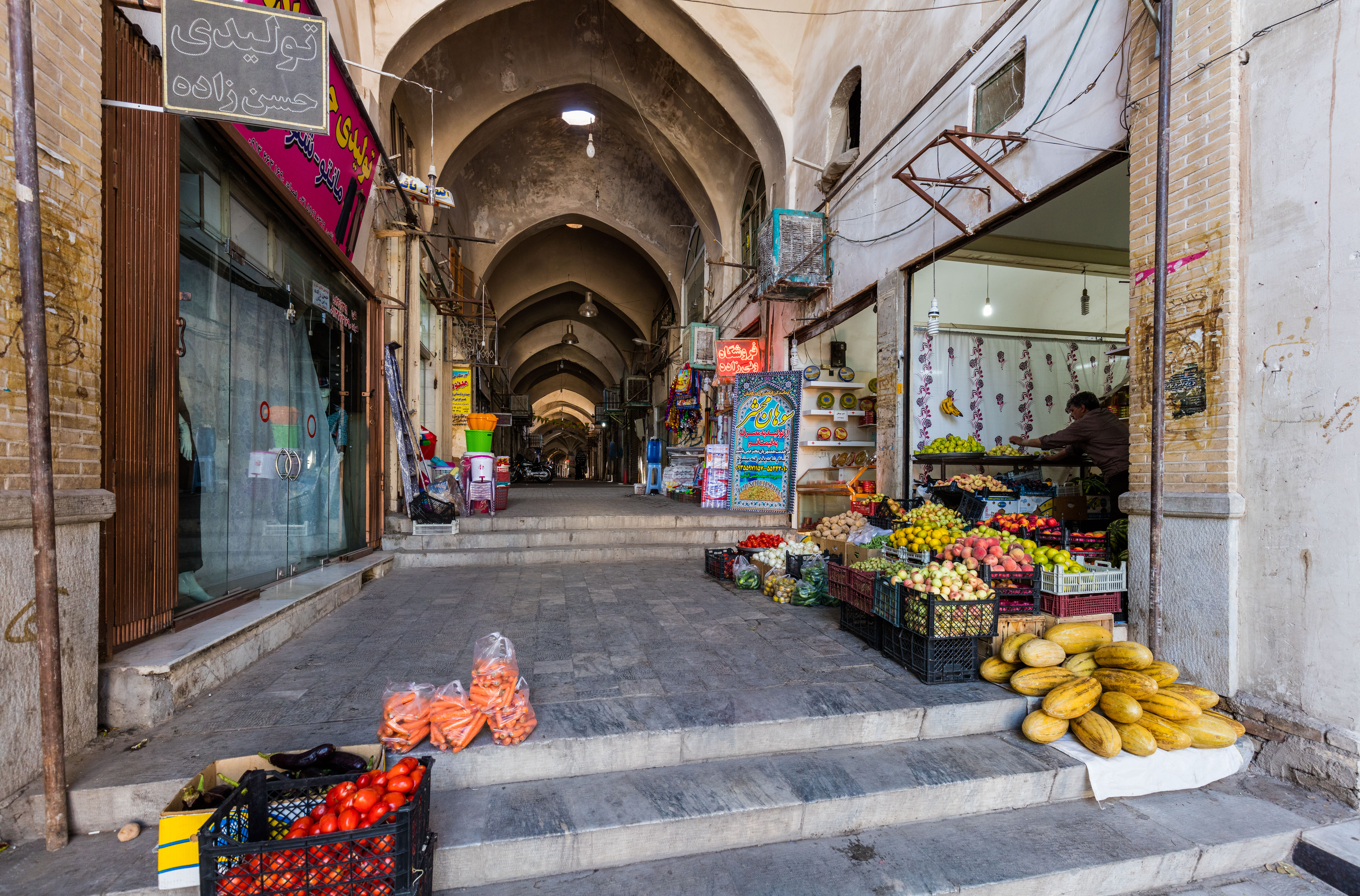 File Antiguo Bazar De Kashan Kashan Ir 225 N 2016 09 19 Dd