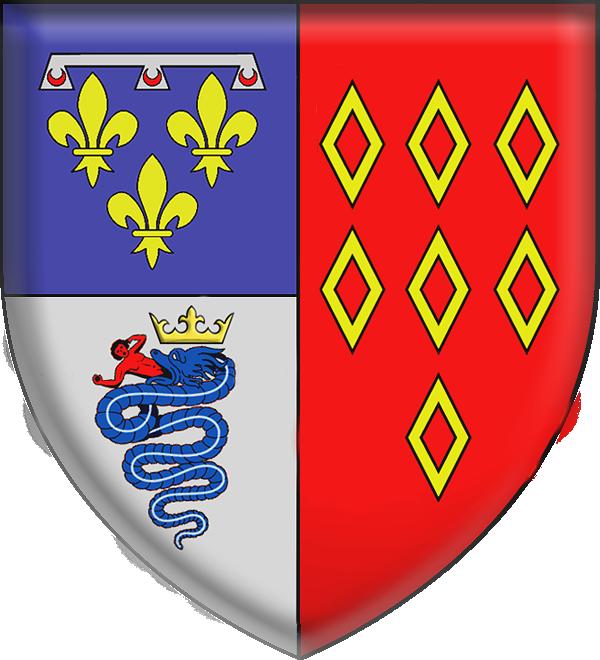 File Armes De Marguerite De Rohan Comtesse D Angoulême