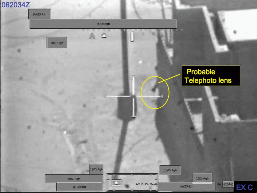 الغارة الجوية على بغداد في 12 يوليو 2007 (القتل الجماعي) ArmyReport_ExhibitC