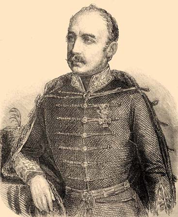 Augusz Antal (1807–1878). Illusztráció a  Vasárnapi Ujságban