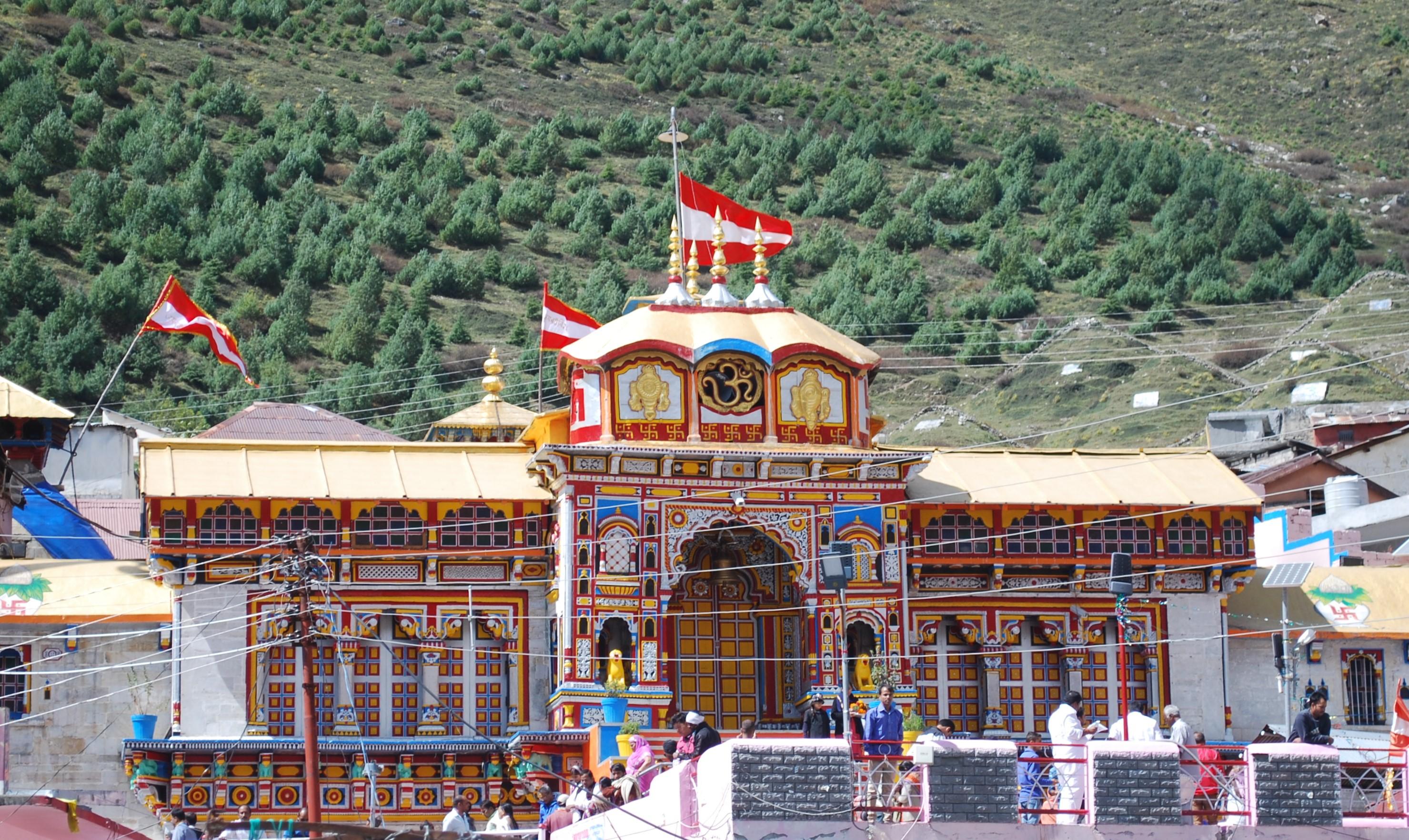 essay on badrinath temple in hindu