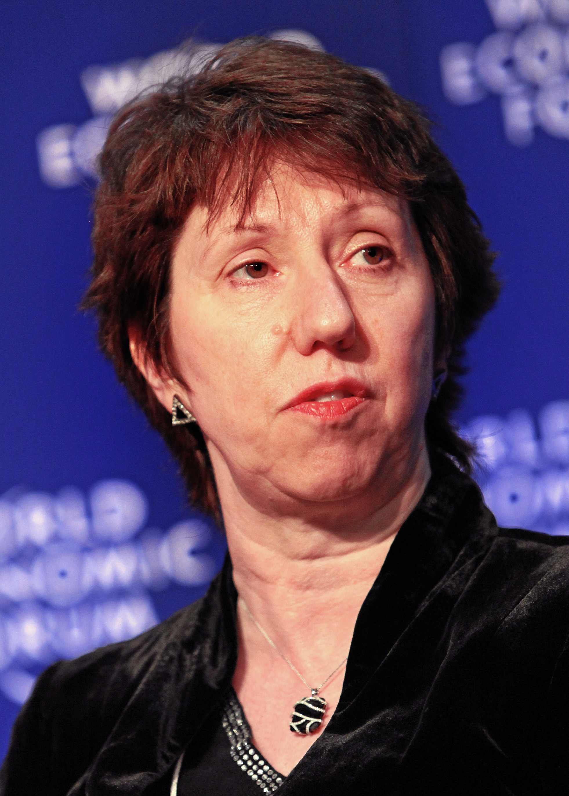 The 64-year old daughter of father (?) and mother(?) Catherine Ashton in 2021 photo. Catherine Ashton earned a  million dollar salary - leaving the net worth at 2 million in 2021