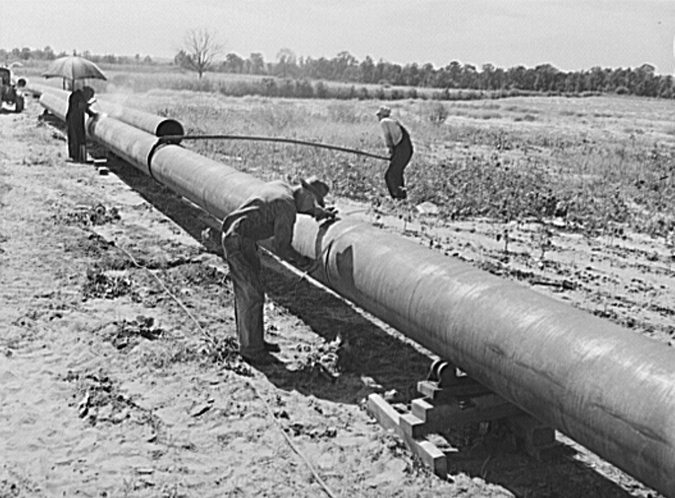 Black Pipe For Natural Gas Lines