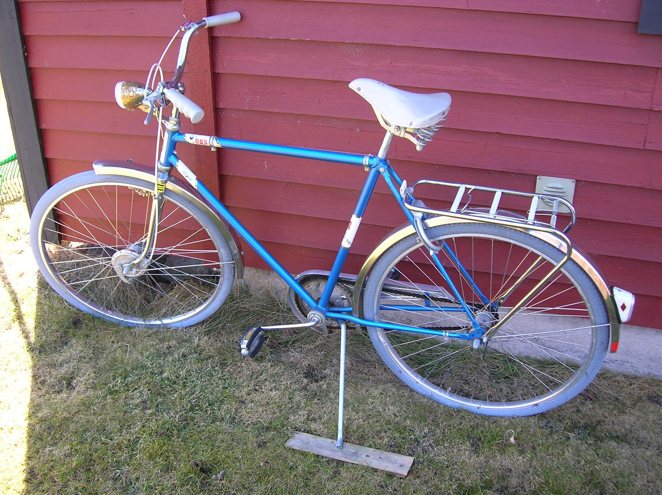 vad väger en cykel