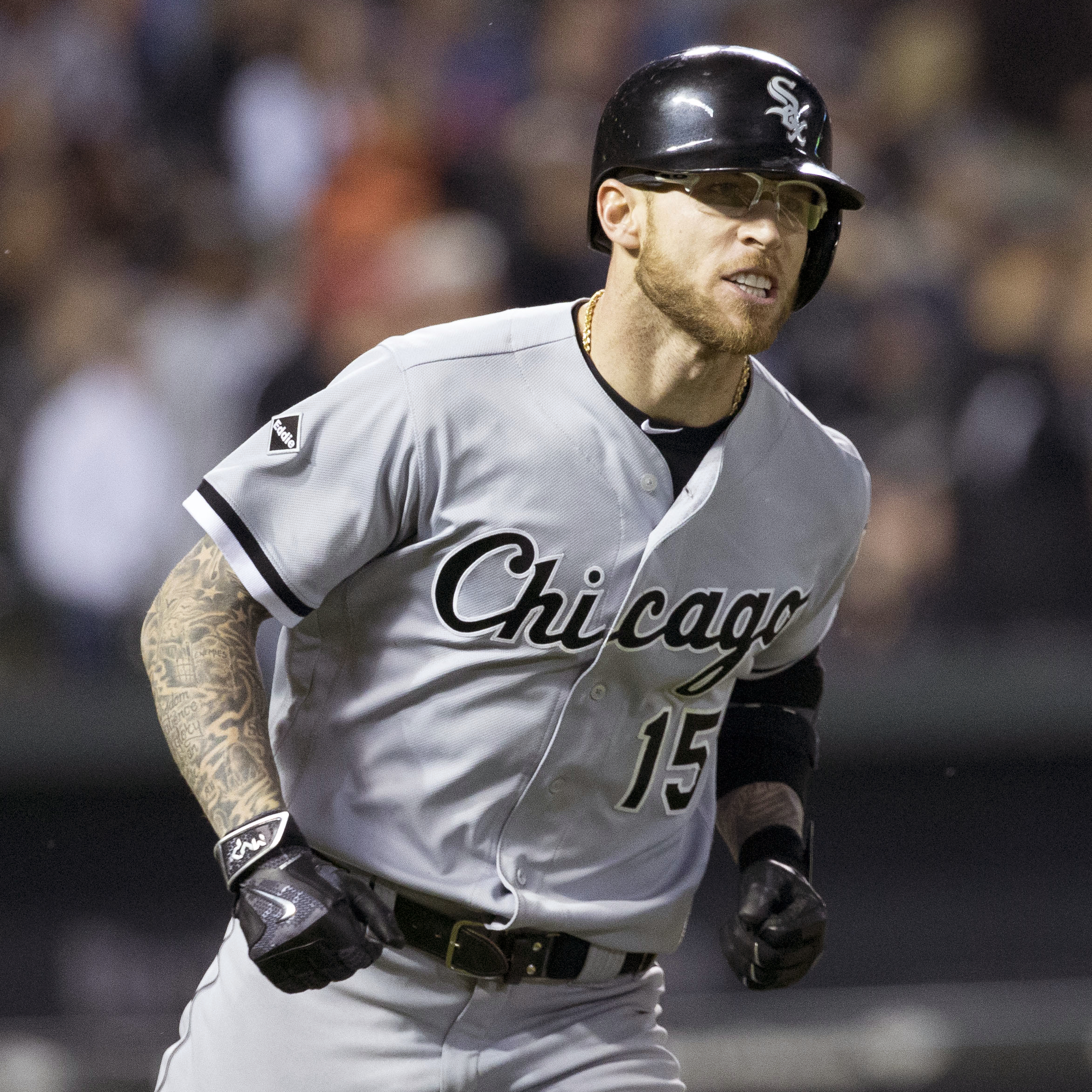 The 29-year old son of father (?) and mother(?) Brett Lawrie in 2019 photo. Brett Lawrie earned a  million dollar salary - leaving the net worth at 0.5 million in 2019