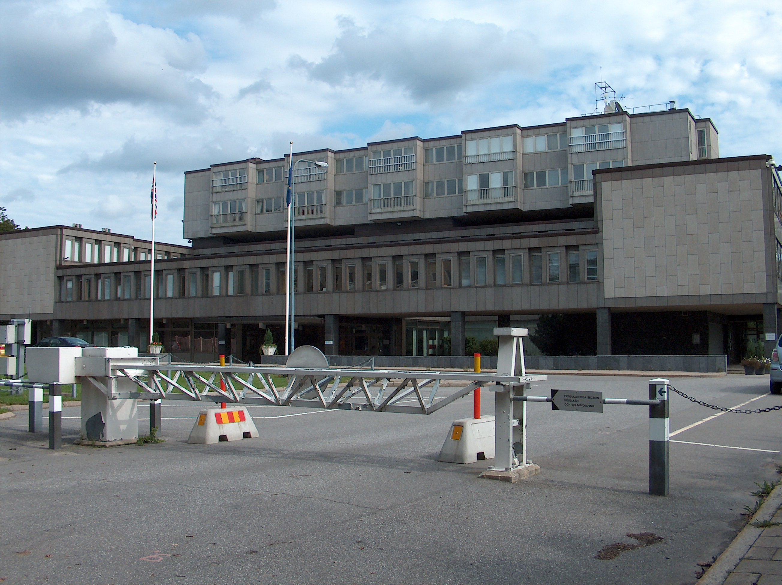 Sweden Russian Embassy In 99